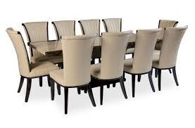 Dining Table To Seat   SL Interior Design - Black dining table seats 10