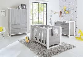 photo chambre bébé chambre large frêne gris et blanc curve lestendances fr