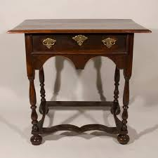 william and mary table a william and mary period oak side table featured furniture