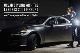lexus jordan contact urban styling with the lexus is 200t hypebeast