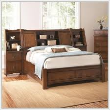 bedding elegant king size bed frame with headboard storage