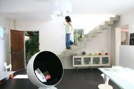 escalier entre cuisine et salon cuisine ouverte sur salon unique escalier entre cuisine et salon