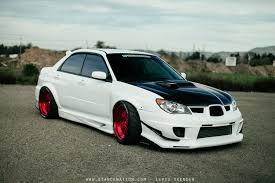 subaru wrx modified wallpaper images of subaru sti 2006 stance sc