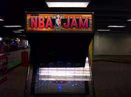 Nba Jam Cabinet Awesome Arcade In Town With Old Games Icewarm Org