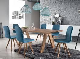 stuehle esszimmer schalenstuhl stuhl esszimmer modern blau eiche massiv hellblau