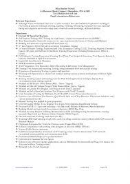 Relevant Experience Resume Sample by Bank Resume Samples Teller No Experience Free Resume Example And