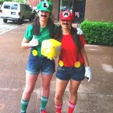 Mario Luigi Halloween Costumes Diy Mario U0026 Luigi Halloween Costumes