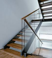 Glass Stair Handrail Image Detail For Glass Usage Modern Stair Railing U2013 Home