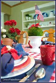 Is Today Flag Day Corner Of Plaid And Paisley Memorial Day Table Setting 2013
