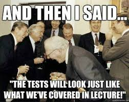 Professor Badass Meme - tales from the trenches exams are coming bitter empire
