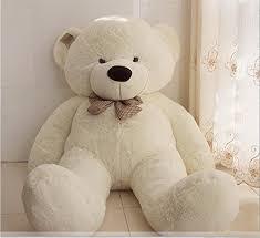 big teddy joyfay 160cm teddy 63 5 3 white big teddy