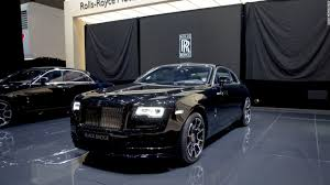 roll royce black rolls royce unveils black badge models video luxury