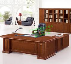 Computer Desk Corner Office Furniture Executive Desk Staff Mahogany Desk Corner