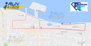 Map Of Sanford Florida by The Rescue Run Corporate 5k