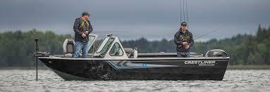 Aluminum Boat Floor Plans by Crestliner U0027s Big Water Aluminum Fishing Boat 1850 Commander