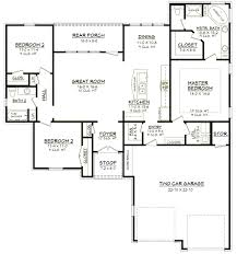 eplans ranch house plan simple statement 1200 square feet and