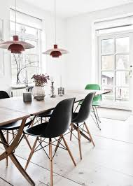 eames inspired dining table kitchen inspiration dining area with charles eames inspired dining