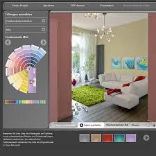 farbliche wandgestaltung beispiele farbige wandgestaltung schöner wohnen farbe