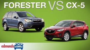 mazda suv cars subaru forester vs mazda cx 5 which crossover suv is better