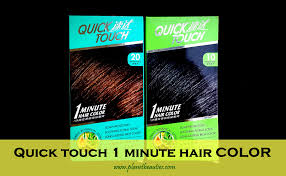 Hair Color For Sensitive Scalp Quick Touch 1 Minute Hair Color Review U2013 Planet Beauties