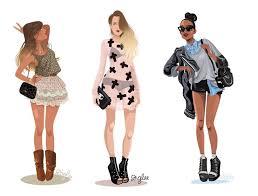 112 best illustrations images on pinterest fashion