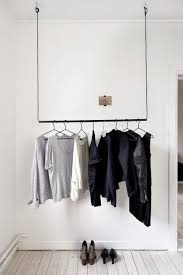 Clothes Storage No Closet No Closet Storage Solutions