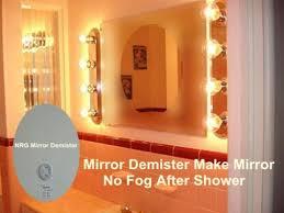 Illuminated Bathroom Mirror - illuminated bathroom mirror fogless illuminated bathroom mirror