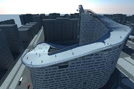 Slope House Apartment Complex To Get Slalom Ski Slope