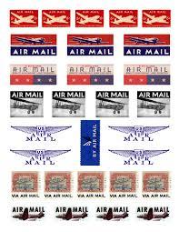 air mail stickers thanksgiving roadtrip