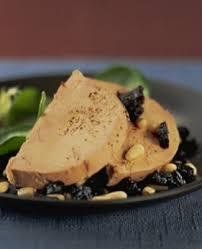cuisiner le foie recette foie gras et tartare de pruneaux cuisine recettes au