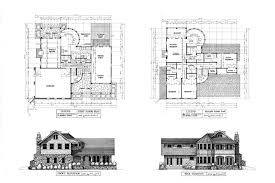 floor plans and elevations of houses guest house plan and elevation homes floor plans