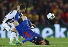 Chions League Meme - lionel messi s face plant in barcelona loss becomes meme daily