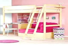 Study Bunk Bed Frame With Futon Chair Loft Bed With Futon Chair Study Bunk Bed Frame With Futon Chair
