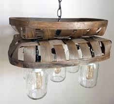 5 Jar Chandelier The L Goods Unique Charming Vintage Inspired Lighting For All