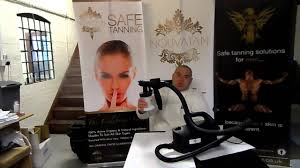 click and tan spray tan system review youtube