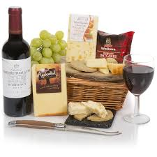 wine and cheese baskets luxury wine cheese hers delivered to uk gourmet wine gift