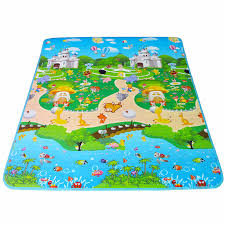Kid Play Rugs 180 150 1cm Thick Educational Baby Play Mat Kid Carpet