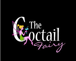 cocktail logo playful feminine logo design for the cocktail fairy by briliana