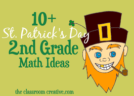 st patrick u0027s day math ideas for second grade