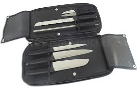 creative kitchen knives fischer creative chef 7 knife bag mychefknives