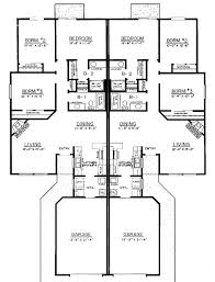 Multi Family Homes Floor Plans 64 Best Duplex Designs Images On Pinterest Duplex Design Duplex