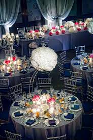 Silver Wedding Centerpieces by Suspended Statement Centerpieces Weddings Centerpieces