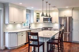 sugar white huntington station consumers kitchen showcase design