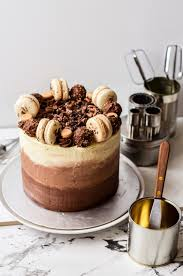 most delicious failures triple chocolate ombre coffee cake