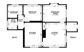 Weekend Cabin Floor Plans Attractive Boarding House Floor Plan 6 Cottage House Plans 3 Png