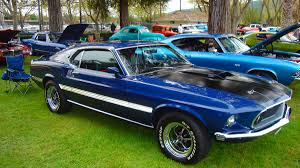 the with the blue mustang blue mustang showed that the socs were coming the outsiders