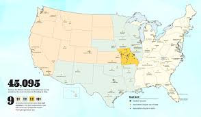 Show Me Map Of The United States by Mizzou Near You Mizzou Magazine