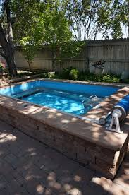 a mix of sun and shade for this endless pool easily adjust the