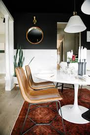 Black Modern Living Room Furniture by Black Dining Room Sets Provisionsdiningcom Provisions Dining