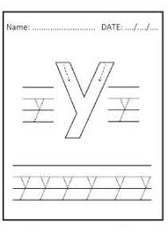26 best lowercase letter y worksheet images on pinterest free